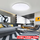12W/ 18W/ 24W LED Ceiling Light Surface Mount Home Room Lamp Kitchen Fixture