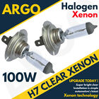 H7 100w Xenon Hid Super Bright Clear Halogen Headlight Lamps Light Bulbs 12v