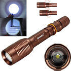 20000Lumen Zoomable 5modes T6 LED Flashlight Torch Lamp+Charger+18650battery USA