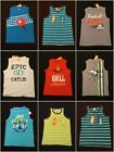 NWT Gymboree Boys Graphic Tank Top Selection Size 4 5 6 7 8 & 10