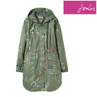 Joules Coastline Print Ladies Waterproof Coat (Y) **FREE UK Shipping**
