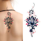 Attractive Beautiful Colourful Flowers Tattoos Sticker - Fashion and Looks Real