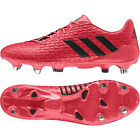 Adidas Predator Malice Soft Ground Rugby Boots Shock Red