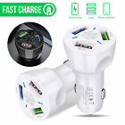 Dual /3 USB Ports 3.1A Car Cigarette Lighter Charger 1224V Digital LED Voltmeter