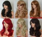 Ginger Fashion Women Long Blonde Brown Red Synthetic Halloween Wig style P