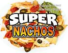 Super Nachos DECAL (CHOOSE YOUR SIZE) Food Truck Concession Vinyl Sticker