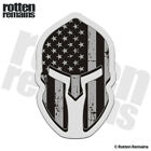 American Subdued Flag Spartan Decal USA Military Armed Forces Sticker EVM