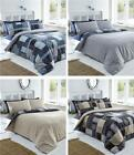 New duvet cover Sets patchwork print reversible pattern quilt cover bed sets