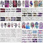 Water Decals 3D Nail Art Transfer Stickers Big Sheet Manicure Decoration DZ88