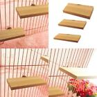 Newest Pet  Parrot Bird Parakeet Cage Wood  Wooden Perches Stand Platform Toys