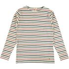 Armor Lux Long Sleeve Heritage Breton Tee Shirt Nature Dark Blue Red