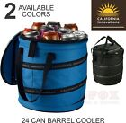 CALIFORNIA INNOVATIONS 24 Can Collapsible Barrel Cooler - PICNIC, BEACH, GOLF