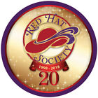 LONG SLEEVE PURPLE T-SHIRT 20TH ANNIVERSARY ARTWORK FOR THE RED HAT SOCIETY