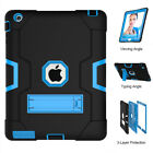 Full Body ShockProof Stand Case Cover for iPad 9.7 2017 Mini 2 3 4 Air 1st Pro 9