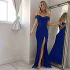 Women Formal Long Evening Party Ball Prom Gown Cocktail Wedding Bridesmaid Dress