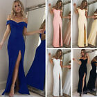 Women Formal Long Evening Party Ball Prom Gown Cocktail Wedd