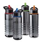 TRITAN FLIP STRAW DRINK WATER BOTTLE RUNNING GYM SPORT TOP CYCLING BIKE BPA FREE