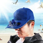 1X UNISEX SOLAR POWERD FAN BASEBALL PANEL CAP AIR COOLED BALL CAPS HEADWEAR HATS