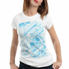 TAPE T-Shirt Damen Kassette disko MC DJ retro musik turntable ndw analog disco