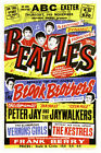 BEATLES Concert Poster Exeter Rock n Roll Vintage Wall Canvas Print A1/A2/A3/A4