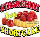 Strawberry Shortcake DECAL (CHOOSE YOUR SIZE) Food Truck Concession Sticker