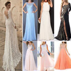Women Long Formal Wedding Evening Ball Gown Party Prom Bridesmaid Dress Lot
