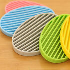 Silicone Home Travel Soap Dishes Soap Holder Soap Box with Cover Bathroom Set