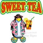 Sweet Tea DECAL (Choose Your Size) Food Truck Concession Vinyl Sticker