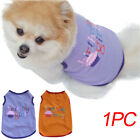 Summer Pet Clothes For Small Middle Dog Cat S-L cake letter Printed Pet T-Shirt