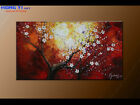 Original Abstract oil Painitng Modern Plum Blossom ART On Canvas Wall Art Framed