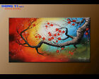 Original Plum Blossom Abstract oil Painitng Canvas Modern Wall Art Framed FY3622