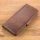 Leather Flip Stand Wallet Card Holder Case Cover For Samsung Galaxy +Accessories