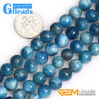 "Natural Apatite Gemstone Round Beads Free Shipping Strand 15"" 6mm 8mm Pick"