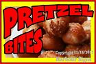 Pretzel Bites (Choose Your Size) DECAL Cookies Food Truck Concession Sticker