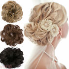 45G Thick Messy Bun Hair Styling Fake Scrunchie Elastic Brown Blonde Shade FOC