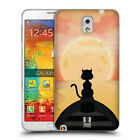 HEAD CASE DESIGNS CAT AND MOON SOFT GEL CASE FOR SAMSUNG PHONES 2