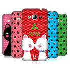 HEAD CASE DESIGNS CHRISTMAS CATS SOFT GEL CASE FOR SAMSUNG PHONES 3