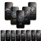Game of Thrones for Iphone 6 7 8 X Cell Phone Smooth Case Metal Sense Pattern