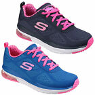 Skechers Skech Air Infinity Kids Girls Sports Athletic Trainers Shoes UK10.5-2