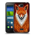 HEAD CASE DESIGNS FURRY ANIMALS HARD BACK CASE FOR HUAWEI PHONES 2