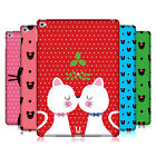HEAD CASE DESIGNS CHRISTMAS CATS HARD BACK CASE FOR APPLE iPAD