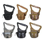 6L Men's Military Outdoor Tactical Fanny Pack Hiking Shoulder Pouch Waist  Bag