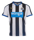 Puma Newcastle United Home Junior Football Shirt - Black