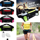 Women Men Running Jogging Cycling Waist Pack Pouch Sport Bag +280ml Water Bottle