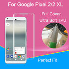Full Screen Ultra Clear Explosion-proof TPU Cover For Google Pixel 2/2 XL Lot