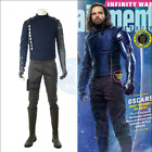 2018 The Avengers 3 Winter Soldier Bucky Halloween Men Cosplay Costume Outfits