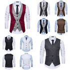 Casual Fashion Spring New Simple Men Solid Color Single-breasted Wild Suit Vest
