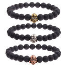 Vintage Retro Bracelets Bronze Star Wars Darth Vader Lava Beads Men's Bracelets $2.46 USD on eBay