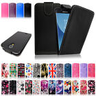 Luxury Leather Magnetic Top Open Flip Wallet Case Cover For Samsung Galaxy Phone