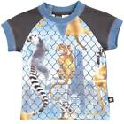 BNWT Boys Molo Eton Climbing Monkeys Baby T-shirt NEW Cotton Summer Top